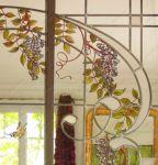 фото цветы из витражных красок