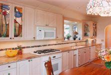фото кухонные витражные фасады
