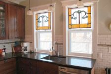 фото стекла витражи для кухни