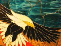 фото витраж орел