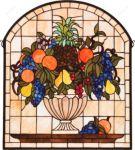 фото витраж с фруктами