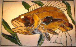 фото витражная рыба