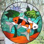 фото витражные рыбки